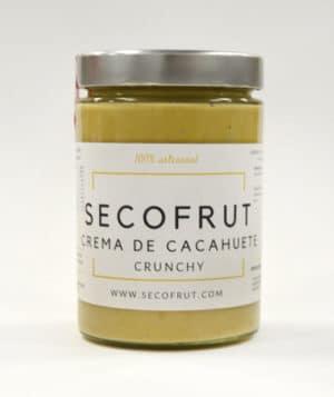 crema de cacahuete crunchy a granel en nuestra tienda online de frutos secos y legumbres nacionales www.secofrut.com