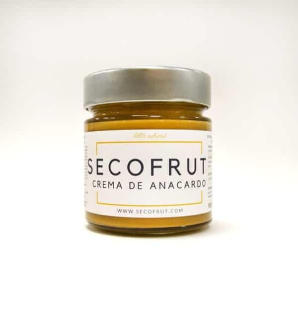 crema de anacardo crunchy a granel en nuestra tienda online de frutos secos y legumbres nacionales www.secofrut.com