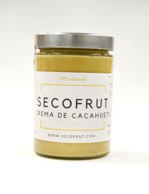 crema de cacahuete artesanal en nuestra tienda online de frutos secos y legumbres nacionales a granel www.secofrut.com