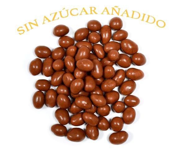 Cacahuete chocolate leche sin azucar a granel en nuestra tienda online de frutos secos secofrut.com