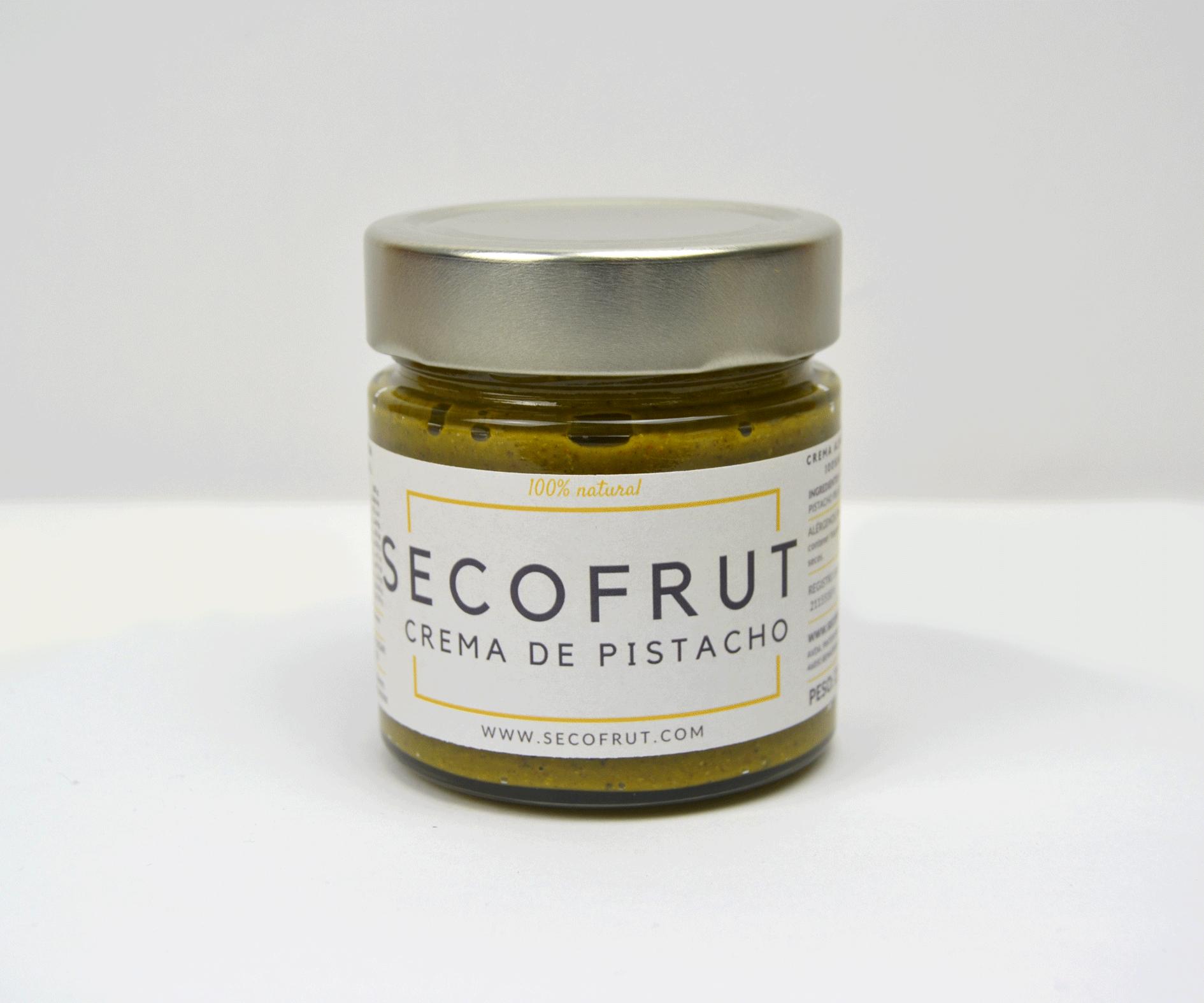 Crema de pistacho en nuestra tienda online de frutos secos secofrut.com
