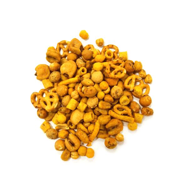 cóctel miel y mostaza negro a granel en nuestra tienda online de frutos secos y legumbres nacionales secofrut.com