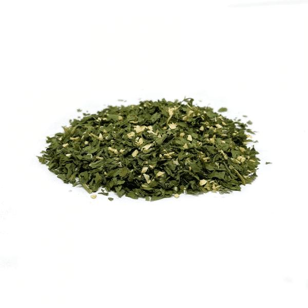 ajo y perejil a granel en nuestra tienda online de frutos secos y legumbres nacionales secofrut.com