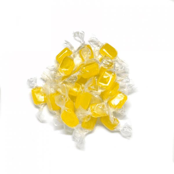 caramelo limón artesanal a granel en nuestra tienda online de frutos secos y legumbres nacionales secofrut.com
