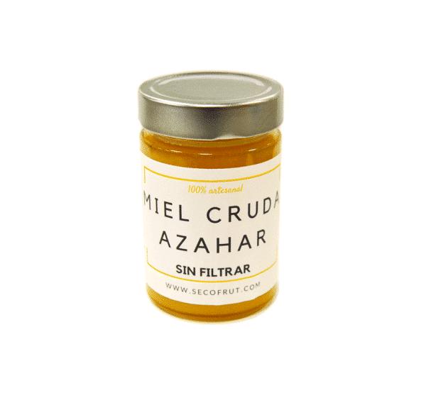 Miel de azahar sin filtrar en nuestra tienda online de frutos secos y legumbres nacionales secofrut.com