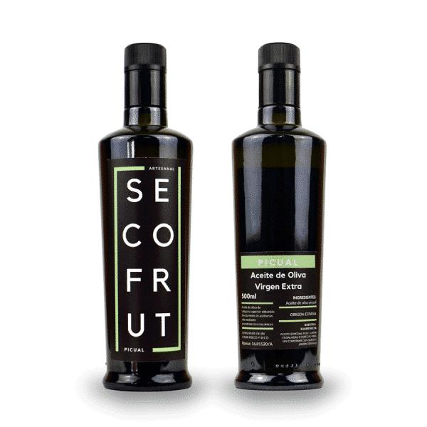 Aceite artesanal picual en nuestra tienda online de frutos secos y legumbres nacionales a granel al mejor precio secofrut