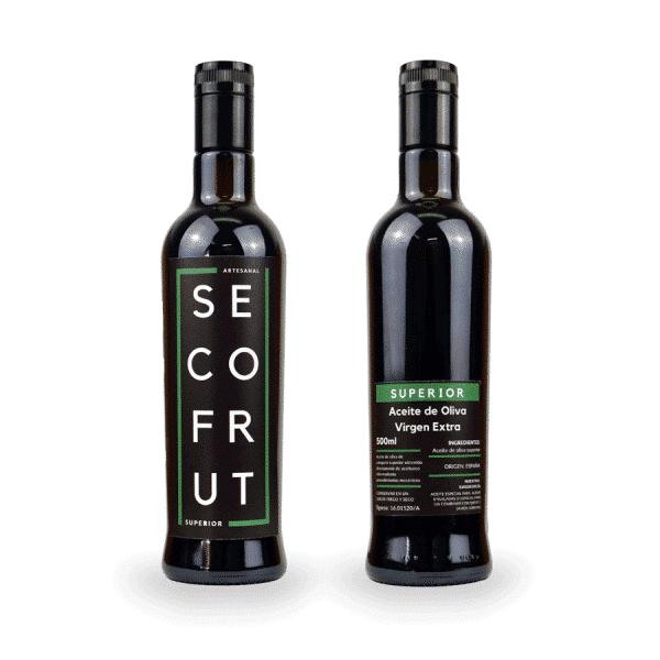 Aceite artesanal superior en nuestra tienda online de frutos secos y legumbres nacionales a granel al mejor precio secofrut